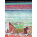 Puzzle  Grafika-00116 Paul Klee: Blick in das Fruchtland, 1932