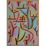 Puzzle  Grafika-00120 Paul Klee: Park bei Lu, 1938
