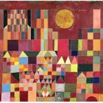 Puzzle  Grafika-00121 Paul Klee: Burg und Sonne, 1928