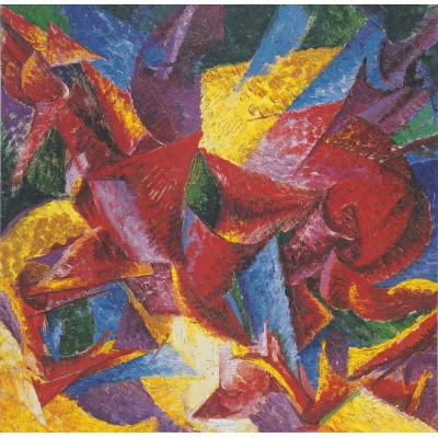 Puzzle  Grafika-00129 Umberto Boccioni: Forme plastiche di un Cavallo, 1914