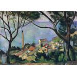 Puzzle  Grafika-00131 Paul Cézanne: Vue de l'Estaque