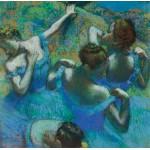 Puzzle  Grafika-00132 Edgar Degas: Danseuses Bleues, 1897
