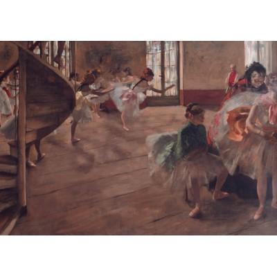 Puzzle  Grafika-00133 Edgar Degas: La Répétition, 1874