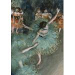 Puzzle  Grafika-00135 Edgar Degas: Danseuse basculant (Danseuse verte), 1877-1879