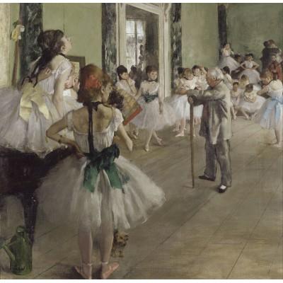 Puzzle  Grafika-00136 Edgar Degas: La classe de danse, 1871-1874