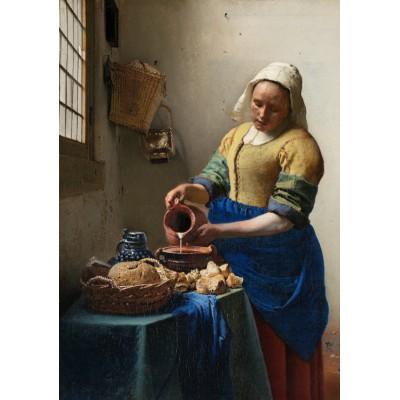Puzzle  Grafika-00142 Johannes Vermeer - The Milkmaid, 1658