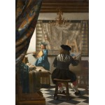 Puzzle  Grafika-00145 Johannes Vermeer - The Allegory of Painting, 1666-1668