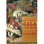 Puzzle  Grafika-00151 Eugène Grasset: Les Fêtes de Paris, 1896