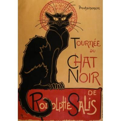 Puzzle  Grafika-00154 Théophile Alexandre Steinlen - Tournée du Chat Noir