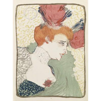 Puzzle  Grafika-00173 Henri de Toulouse-Lautrec: Mademoiselle Marcelle Lender, 1895