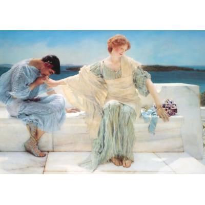Puzzle  Grafika-00174 Sir Lawrence Alma-Tadema: Ask me no more, 1906
