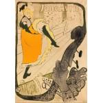 Puzzle  Grafika-00175 Henri de Toulouse-Lautrec: Jane Avril, 1893