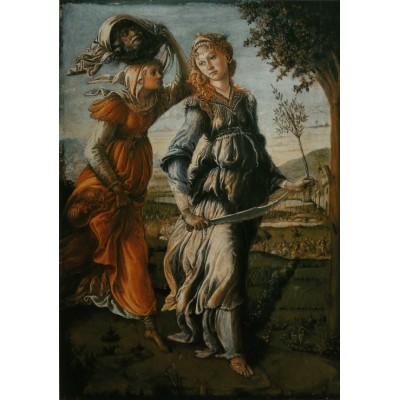 Puzzle  Grafika-00188 Botticelli Sandro: The return of Judith to Bethulia, 1470