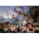 Puzzle  Grafika-00192 François Boucher: Le Triomphe de Vénus, 1740