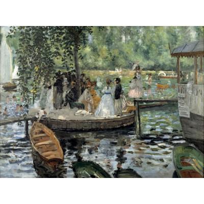 Puzzle  Grafika-00214 Auguste Renoir: La Grenouillère, 1869