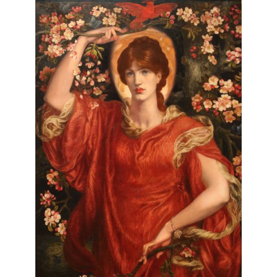 Puzzle  Grafika-00222 Dante Gabriel Rossetti:A Vision of Fiammetta, 1878
