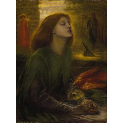 Puzzle  Grafika-00225 Dante Gabriel Rossetti: Beata Beatrix, 1872