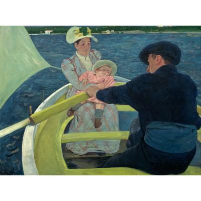 Puzzle  Grafika-00233 Mary Cassatt: The Boating Party, 1893-1894