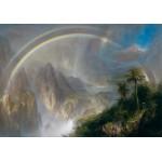 Puzzle  Grafika-00239 Frederic Edwin Church: Rainy Season in the Tropics, 1866