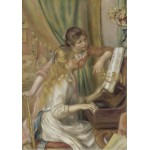 Puzzle  Grafika-00241 Auguste Renoir: Jeunes filles au piano, 1892