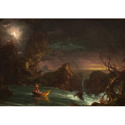 Puzzle  Grafika-00244 Thomas Cole: Le voyage de la Vie - L'Age Adulte, 1842