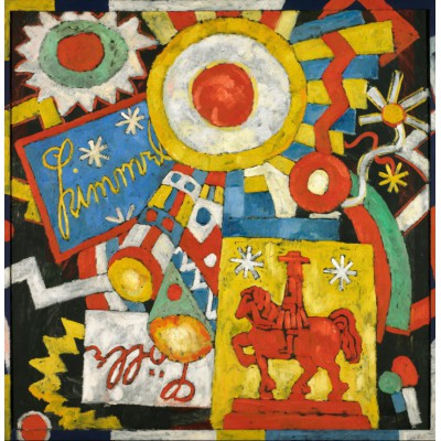 Puzzle  Grafika-00246 Marsden Hartley: Himmel, 1914-1915