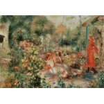 Puzzle  Grafika-00264 Auguste Renoir: Jeunes Filles dans un Jardin, 1893-1895