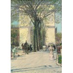 Puzzle  Grafika-00272 Childe Hassam: Washington Arch, Spring, 1890