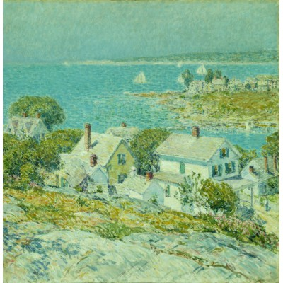 Puzzle  Grafika-00274 Childe Hassam: New England Headlands, 1899