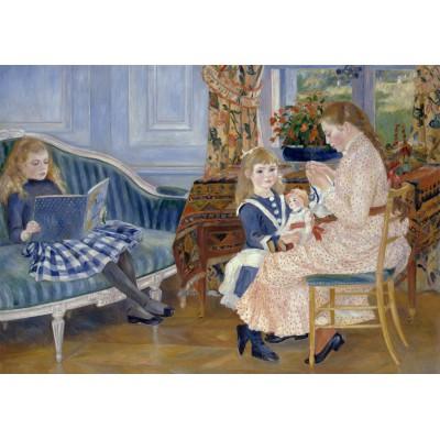 Puzzle Grafika-00280 Auguste Renoir: L'après-midi des enfants à Wargemont, 1884