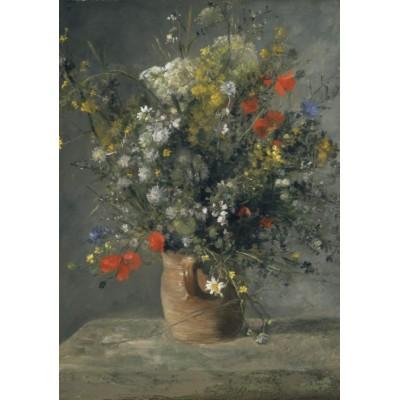 Puzzle  Grafika-00282 Auguste Renoir: Fleurs dans un Vase, 1866