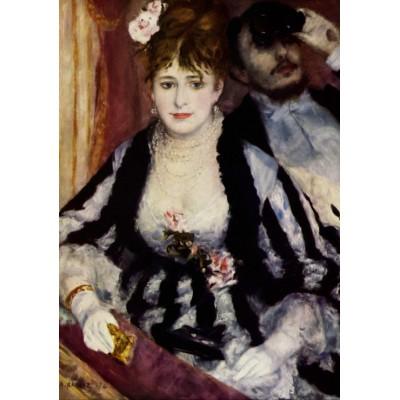 Puzzle  Grafika-00283 Auguste Renoir: La Loge, 1874
