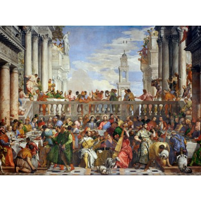 Puzzle  Grafika-00305 Paolo Veronese: The Wedding at Cana, 1563