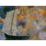Puzzle  Grafika-00311 Odilon Redon: Nuages Fleuris, 1903