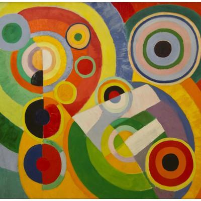 Puzzle  Grafika-00319 Robert Delaunay: Rythme, Joie de Vivre, 1930