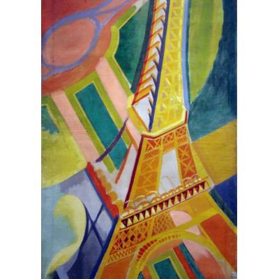 Puzzle Grafika-00322 Robert Delaunay: Eiffelturm, 1926