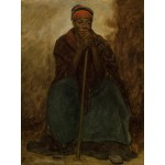 Puzzle  Grafika-00331 Jonathan Eastman Johnson: Dinah, Portrait of a Negress, 1867