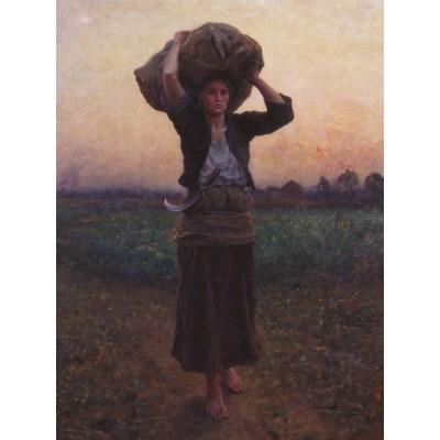 Puzzle  Grafika-00332 Jules Breton: L'Etoile du Berger, 1887