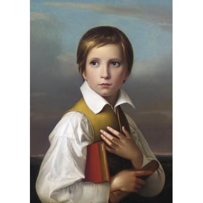 Puzzle  Grafika-00339 Wilhelm von Schadow: Portrait de Felix Schadow, 1830