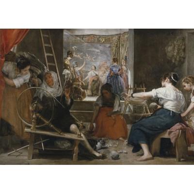 Puzzle  Grafika-00340 Diego Vélasquez: Les Fileuses, 1657