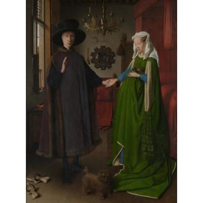 Puzzle Grafika-00348 Jan Van Eyck: Les époux Arnolfini, 1434