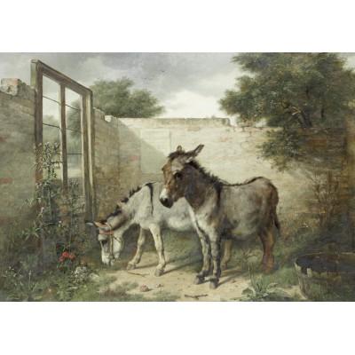 Puzzle  Grafika-00357 Walter Hunt: In the Pound, 1882