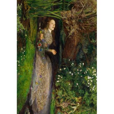 Puzzle Grafika-00362 John Everett Millais: Ophelia, 1851