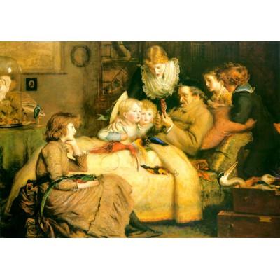 Puzzle  Grafika-00364 John Everett Millais: Ruling Passion, 1885