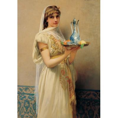 Puzzle  Grafika-00384 Jules Lefebvre: Servante, 1880