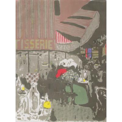 Puzzle  Grafika-00407 Edouard Vuillard: Die Konditorei, 1899