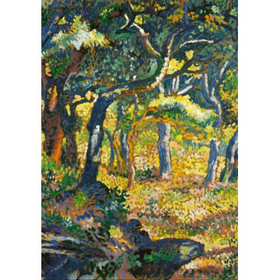 Puzzle  Grafika-00414 Henri-Edmond Cross: Une clairière en Provence