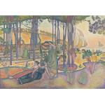 Puzzle  Grafika-00415 Henri-Edmond Cross: L'air du Soir, 1893