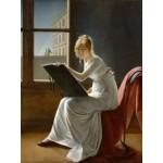 Puzzle  Grafika-00416 Marie-Denise Villers: Jeune Femme Dessinant, 1801