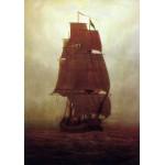 Puzzle  Grafika-00417 Caspar David Friedrich: Segelschiff, 1815